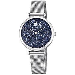 Lotus Watches Femme Analogique Classique Quartz Montre avec Bracelet en Acier Inoxydable 18564/2
