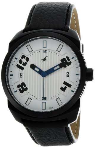 Fastrack OTS Sports Analog Silver Dial Men's Watch - 9463AL01 image