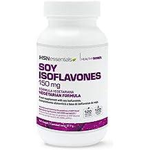 Isoflavonas de Soja de HSN Essentials - 150mg - Combate los sintomas de la Menopausia,
