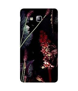 Red Shadow Samsung Galaxy On7 Case
