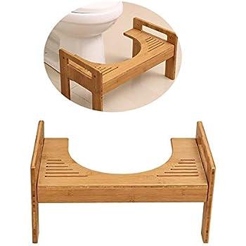 Tabouret De Toilettes En Bois Repose Pied Medical Wc Position Assise Saine Contre Hemorroide Constipation Salle De Bain Antiderapant Repose Pieds Pour
