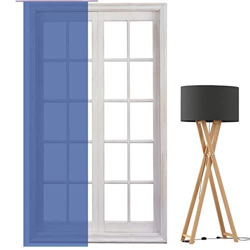 JEMIDI Flächenvorhang - Living- Schiebegardine Flächen Vorhang Raumtrenner Gardine Vorhang Schal (Design_155207_8119, Polyester)