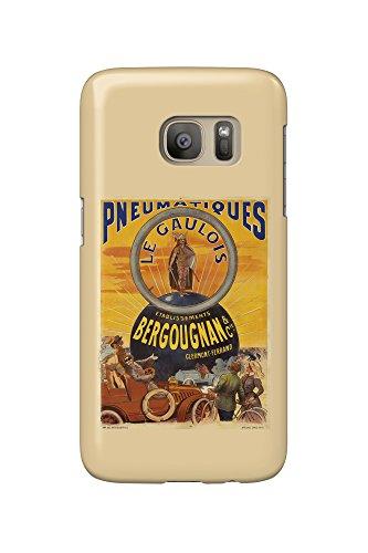 pneumatiques-bergougnan-le-gaulois-vintage-poster-france-c-1905-galaxy-s7-cell-phone-case-slim-barel