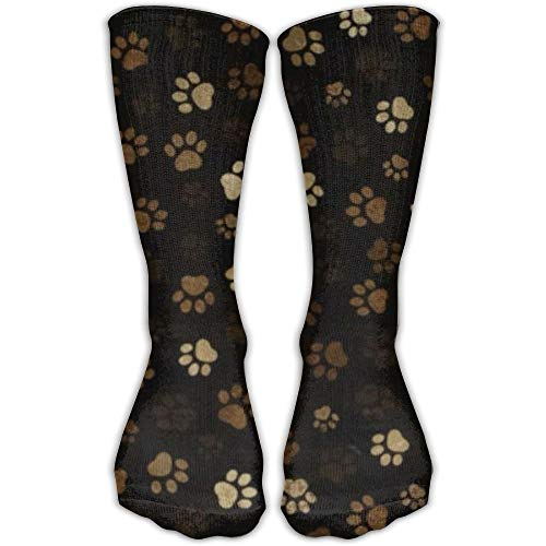Jxrodekz Paw Print Mud Comfortable Graduated Compression Socks for Women and Men,Athletic Socks - Mud Kleider Pie