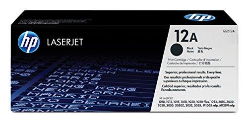 HP 12A (Q2612A) Schwarz Original Toner für HP Laserjet 1010, 1020, 1022,...