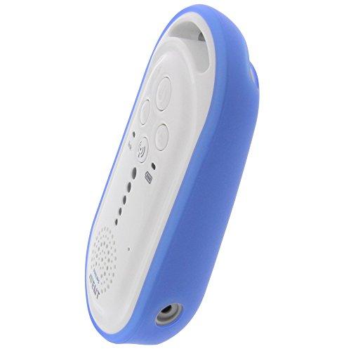 foto-kontor Housse pour Philips Avent SCD505/00 Avent SCD506/26 en Caoutchouc TPU étui de Protection Bleu