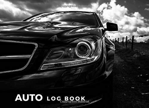 Auto Log Book: Repair Log Book Journal,  8.25