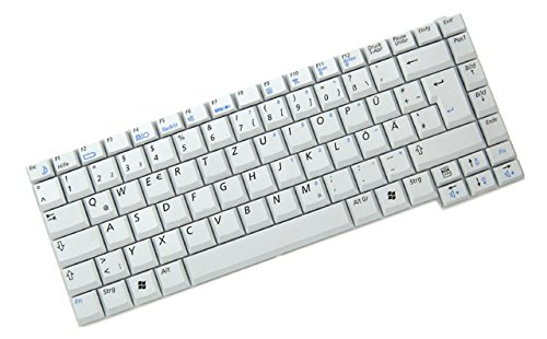 R40-tastatur (QWERTZ Tastatur für Samsung R40 NP-R40 / R40 Plus NP-R40 Plus Series DE Neu Silber)