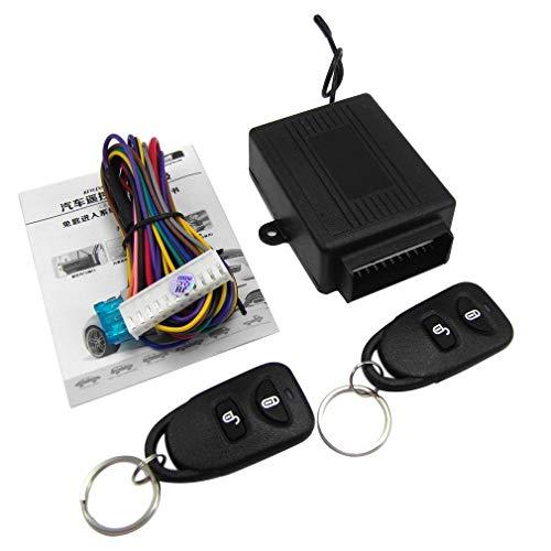 leoboone M602-8114 Fernbedienung Zentralverriegelung Kit für KIA Autotürschloss Keyless Entry-System mit Stamm-Freigabe-Taste