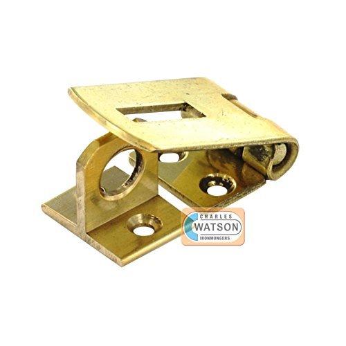 Latón cerrojo y grapa para armarios 1 x 38 mm/puerta-