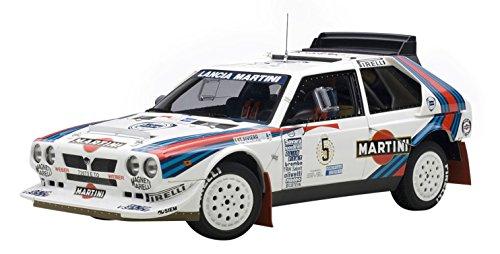 Autoart aa88621 modellino auto lancia delta s4 n.5 winner rally argentina 1986 biasion-siviero