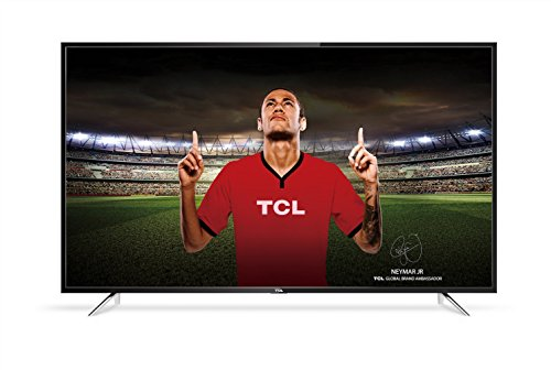 TCL 43DP608 43 Inch 4K UHD HDR 10 Smart TV with Freeview Play - Black (2018 Model) [Energy Class A]