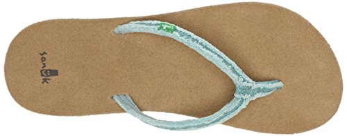 Sanuk Sanuk Slim Fraidy Sandals Women Blu (Dust Blue)
