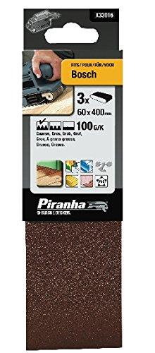 BLACK & DECKER X33016-XJ - PIRANHA 60 X 400 MM 100G BANDA DE LIJADO