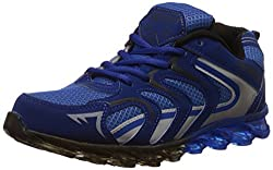 Steemo Men's Navy and Blue Running Shoes - 7 UK/India (41 EU)(STM1025)