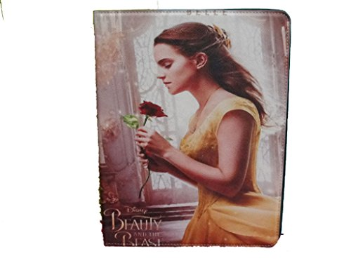 Price comparison product image IPAD 2 / 3 / 4 GENERATION CASE COVER FLIP BEAUTY AND THE BEAST BELLE PRINCESS DISNEY ROSE YELLOW UK SELLER