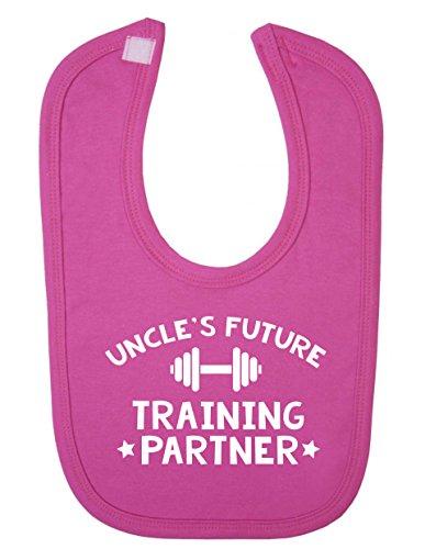 Uncle de Future partenaire d'entraînement pour nouveau-né bébé Bavoir bébé
