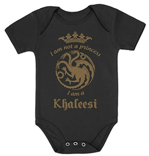 i-am-not-a-princess-i-am-a-khaleesi-fan-motiv-gold-baby-body-kurzarm-body-6m-schwarz