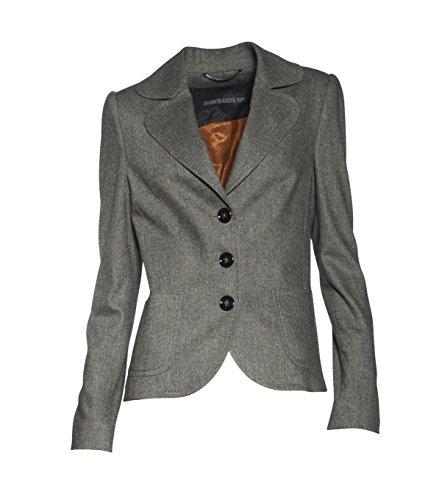 drykorn anzug damen Drykorn Damen Blazer Minehead mit Fischgrät-Muster 11 Grey 3