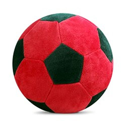 APAS Soft Baby Ball red & Black Color - 17.4cm(Red, Black)
