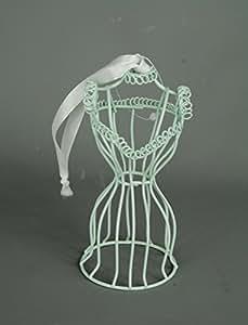 Câble de suspension Bleu canard Mannequin dans un thème vintage