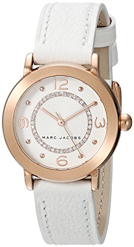 Marc Jacobs Riley Reloj de Mujer Cuarzo 28mm analógico Correa de Cuero MJ1618