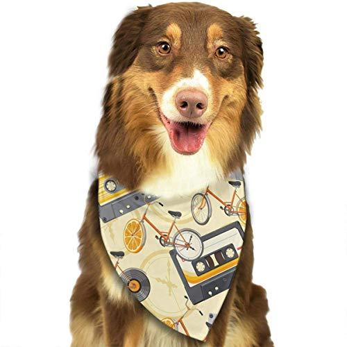 Hipiyoled Механические Часы Pattern Fashion Dog Бандана Нагрудники Шарф Pet Dog Cat Шарф ()