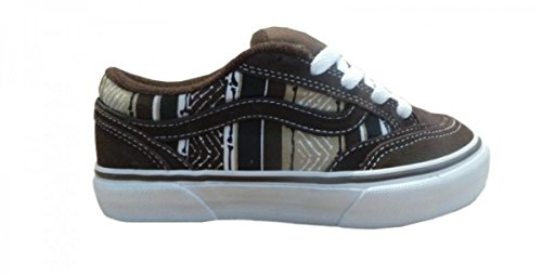 Vans Skateboard Schuhe Holder Brown/White, Schuhgrösse:32