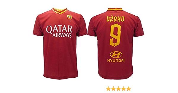 Maglia Dzeko Roma 2020 Ufficiale 2019 AS Roma Adulto Bambino Edin 9 (6 Anni)