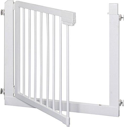IB-Style – Treppengitter / Türgitter KOLBY M | 3 Größen |86 – 92 cm | aus massivem Holz – Weiß - 3