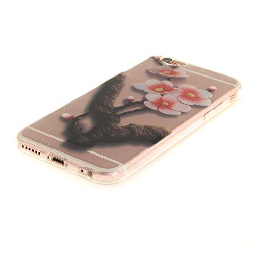 A9H iPhone 6/6S 4.7 Hülle mit Kameraschutz transparent dünne Schutzhülle Case Cover für iPhone 6/6S aus flexiblem TPU -27HUA 30HUA