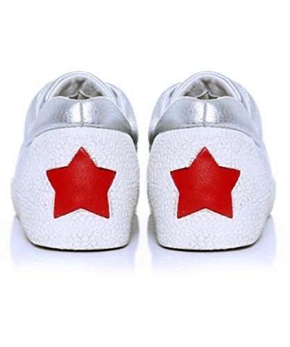 Ash Scarpe Nicky Sneaker Argento Donna Argento