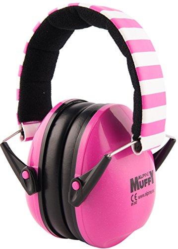 Alpine Muffy Kindergehörschutz - Gehörschutz für Kinder ab 2 Jahren - Verhindert Gehörschäden - Robust und einfach zu verstauen - Bequeme Passform - Rosa