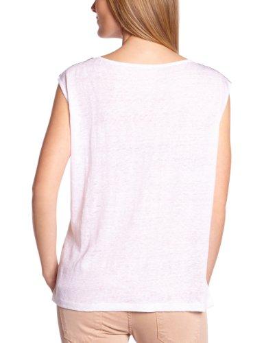 VILA CLOTHES - Maglietta, Manica corta, Donna Bianco