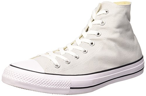 Converse sneaker all star hi canvas, sneakers unisex adulto, grigio (mouse white), 39.5 eu