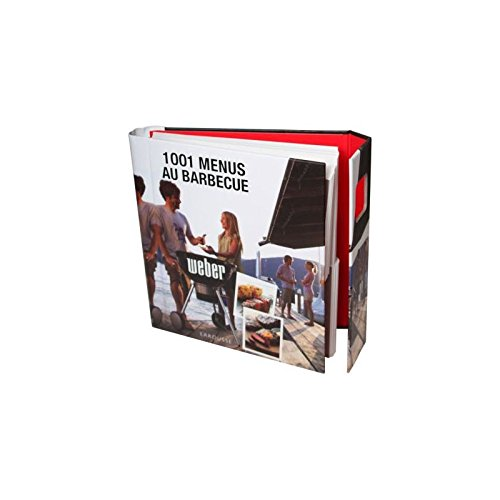 Weber - Livre de Recettes 1001 Menus au Barbecue par