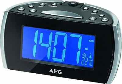 AEG MRC 4119P–Reloj de proyección Radio