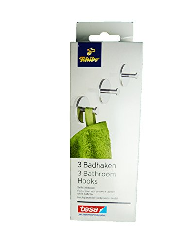 tcm-tchibo-3-x-metall-badhaken-haken-handtuchhalter-badhaken-selbstklebend
