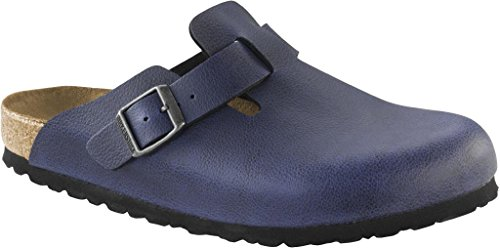 BIRKENSTOCK Herren Boston Clogs, Bleu (Pull Up Navy), 44 EU (Clogs Antik Boston)