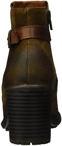Buffalo Es 30800 Sauvage Suede C/Oleo, Bottes Classiques femme Marron - Braun (CARAMELO 01)