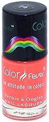 Color Fever Absolute Matt Nail lacquer - Matt Brick Orange. 0.30 Ounce
