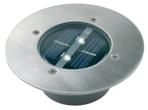 Ranex 5000.197 Solar Bodeneinbaustrahler rund, IP67, befahrbar, bis zu 1250 kg belastbar