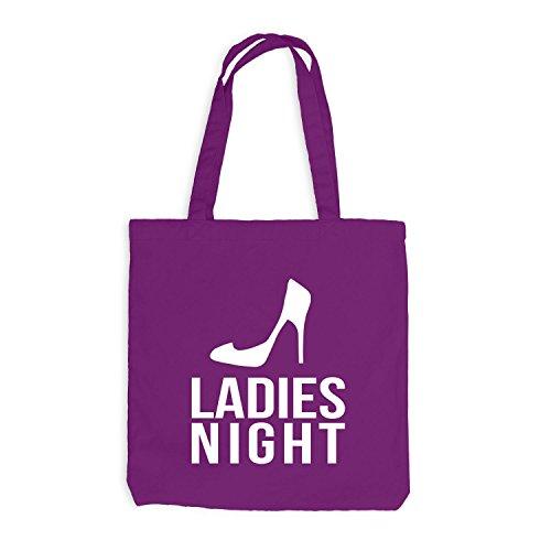 Jutebeutel - Ladies Night - Junggesellenabschied JGA Magenta