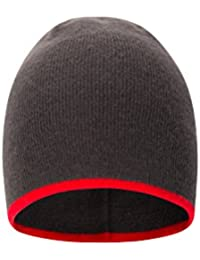 Mountain Warehouse St Anton Beanie - Lightweight Cap, Small, Compact & Easy to Pack Mens Cap, Easy Care Hat- Ideal for Travelling & Keeping Handy in Your Daysack