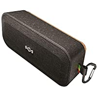 House of Marley No Bounds XL Waterproof Bluetooth Speaker, 16 Hour Battery, Rugged, Dust Proof IP67, Carabiner Clip, Quick Charge, Wireless Dual Pairing, Speakerphone - Signature Black preiswert