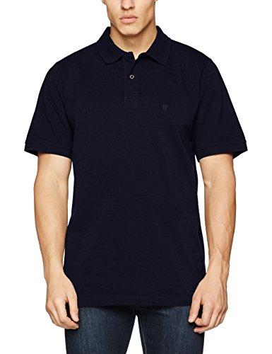 JP 1880, Große Größen Herren Poloshirt Piquee, Blau (blau 70), 3XL - Baumwolle Plus Größe Kleidung