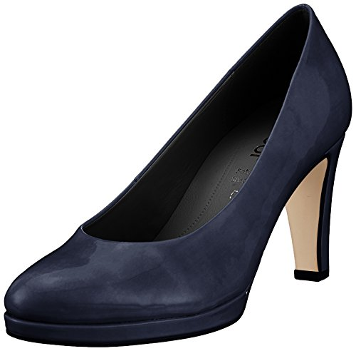 Gabor Shoes Damen Fashion Pumps, Blau (Marine (Natur), 38 EU - Pumps Leder