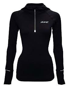 Zoot Ultra Megaheat Sweat à capuche Femme Noir FR : L (Taille Fabricant : L)