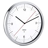 Blomus Crono Reloj con Control por Radio, weiß, 30.5 x 30.5 x 4.5 cm