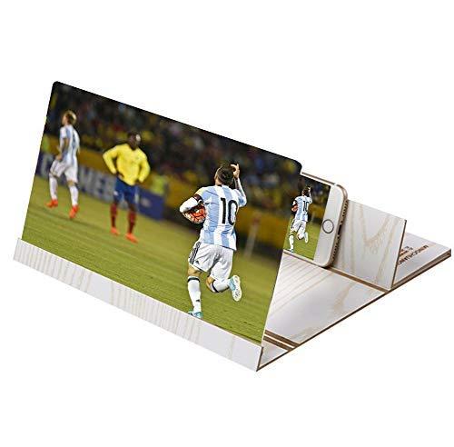 3D HD Handy-Lupe Vergrößerung Handy Video Klappbare Screen Halterung Ständer Magnifier Für...
